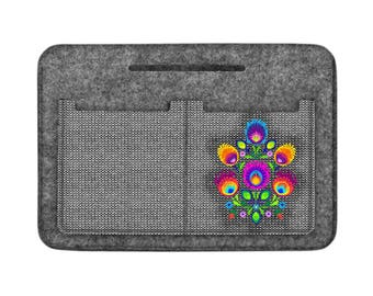 Felt accessories organizer, beautician and spectacle case