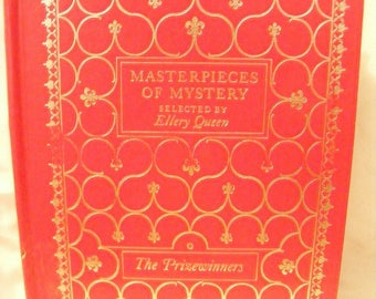 Masterpieces of Mystery Selected by Ellery Queen: The Prize Winners. Leather Bound – 1976