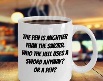 Funny Mug for Writer