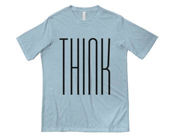 Think T-shirt Design   Funny Tees   Graphic Tees   Next Level 6200 Poly/Cotton T-Shirt