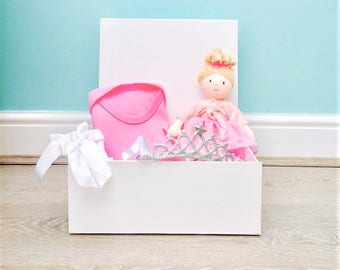 Girls 1st Birthday Princess Gift Box