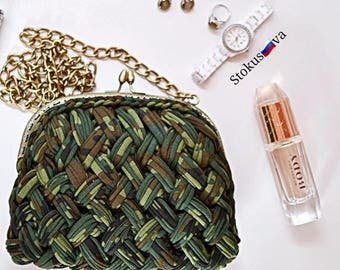 small clutch, bag of knitwear