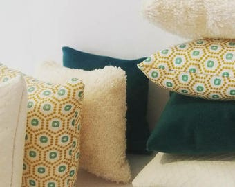 Sensory cushions Montessori inspired Waldorf Steiner tactile cushions
