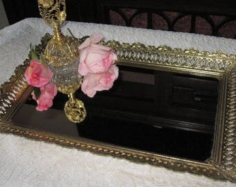 1960's vanity mirror tray #6