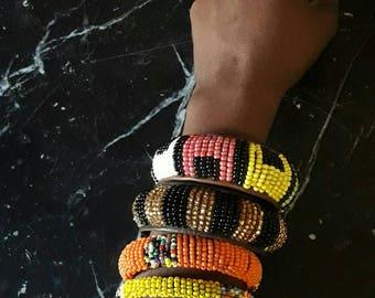 Bracelet South African Maasai beaded