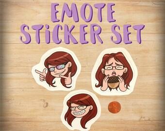 Emote Sticker Set
