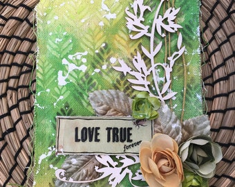 love true - canvas tag