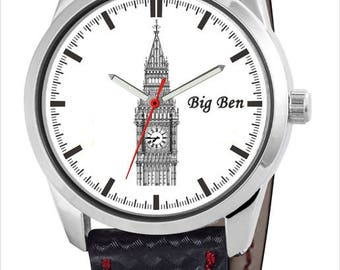 Personalized watch with the Big Ben Tower