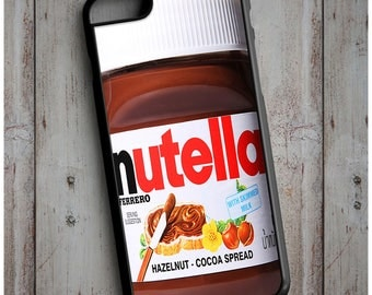 Novelty Nutella Chocolate Spread Cool New Case Cover for any iPhone