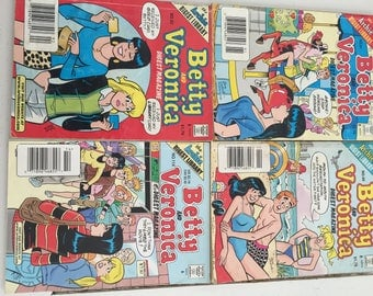 Assorted Betty and Veronica comics
