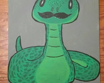 Dapper snake