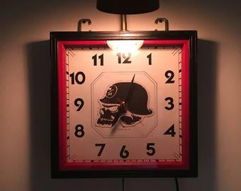 World War 1, WWI, repurposed, iron cross art clock