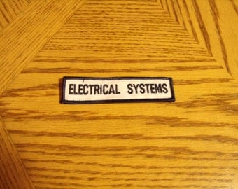 Vintage ASE electrical system patch