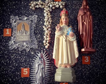 VINTAGE RELIGIOUS ITEMS Statues & Mix Pick By Number