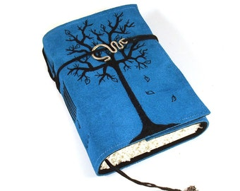 Journal, Leather, Diary, Notebook, Winter Tree