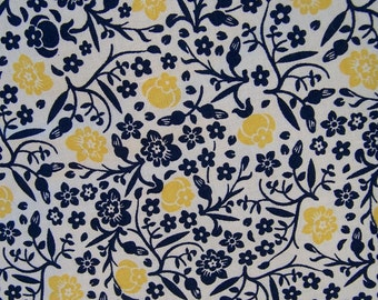 Adjustable Nursing Cover - Dark Blue, Yellow and Cream