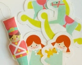 Cut and Sew Panel - Toy Hanging Christmas Ornaments
