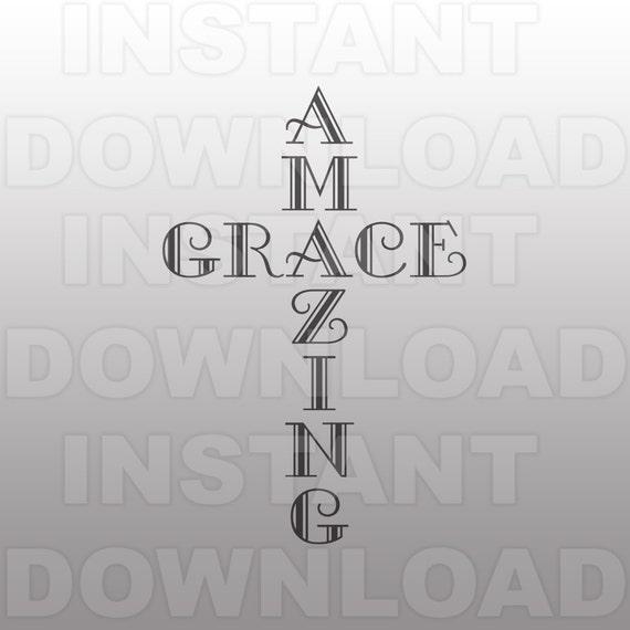 amazing grace svg filechristian svg filereligious svg