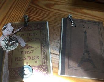 Two journals unassembled