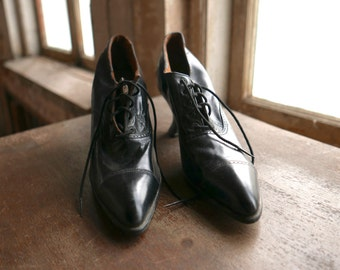 Victorian Lace Up Shoes