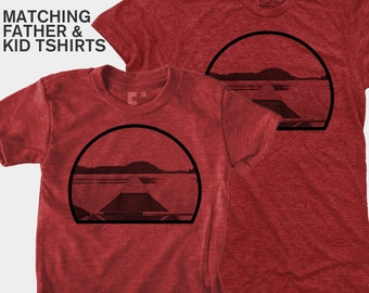 SALE! Canoe Dad Son Matching Shirts | Fishing Gift | Father Baby Matching TShirts | Daddy Daughter Matching | Canoe Paddles | Gift for Dad