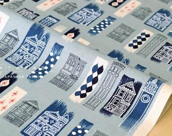 Cotton + Steel Jubilee - in the city - blue - fat quarter