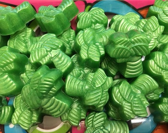 4 Sets Palm Tree Tropical Guest Glycerin Soap Vegan Party Favor