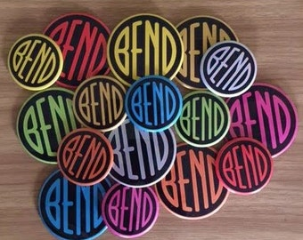 "3"" Bend Magnets- by Via Delia"