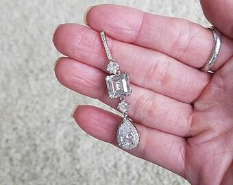 Bridal Earrings Wedding Earrings Crystal Earrings Crystal Embellished Earrings Cocktail Earrings