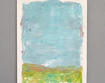 No.10 (Breezy)  an original acrylic painting