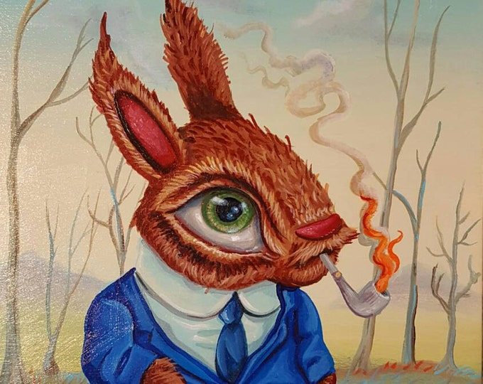 Rabbit Tobacco - Original painting by Mr Hooper of Nashville Tennessee