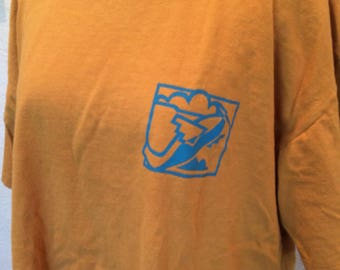 Vintage 1980's thunderbird t shirt. Size XL