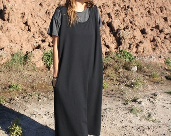 Long Jumper Dress in Bamboo French Terry / by replicca / one size / your choice of colour