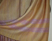 Handwoven Yak/Silk Shawl