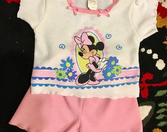 Minnie Mouse Jammies 3T