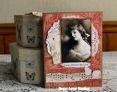 Happy Birthday My Love Collage  card,handmade card