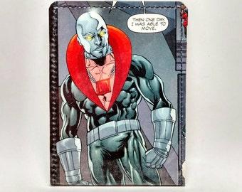 Sewn Duct Tape Comic Book Wallet - GI Joe / Cobra - Destro Design 2