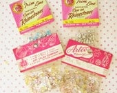 From the Dime Stoe...Vintage Sequins & Rhinestones...New Old Stock