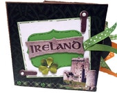 Ireland Scrapbook - Paper Bag Travel Album