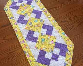 Yellow EasterTable Runner