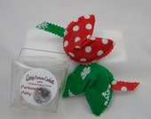 Christmas Catnip Toys, Fortune cookies in take out box