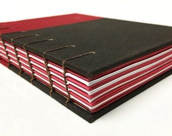 Journal, Notebook, Travel Journal, Project Planner: Colourblocks Journal in Red