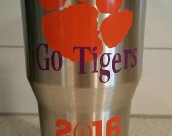 Go Tigers Stainless Steel Tumbler - Ozark Trail - 30 oz - Champions