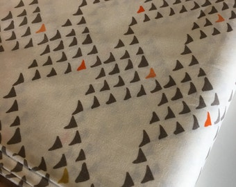 Arrow Fabric, Adventure fabric, Nursery Fabric, Modern fabric by Art Gallery fabrics, Arriws in Grey, Fabric by the Yard, Boho Fabric