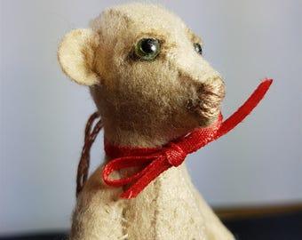 Vintage Hand Stitched Meerkat Soft Toy Animal