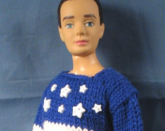 Ken Clothes - Patriotic Sweater and Slacks for the Fourth of July