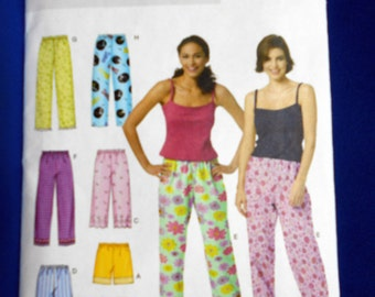 Butterick B3314, fast and easy, sewing pattern, Misses L - XL, petite top, shorts & pants