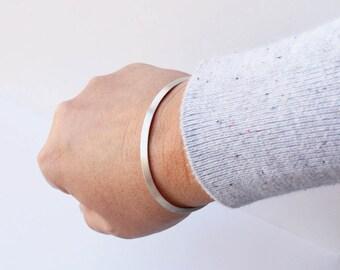 Triangle Sterling Cuff Bracelet