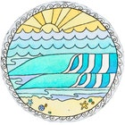 MermaidsCoinSurfArt