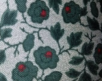 New fabric, quilt, quilting, sewing, reproduction, civil war, 19th century repro, period fabric, green, flowers